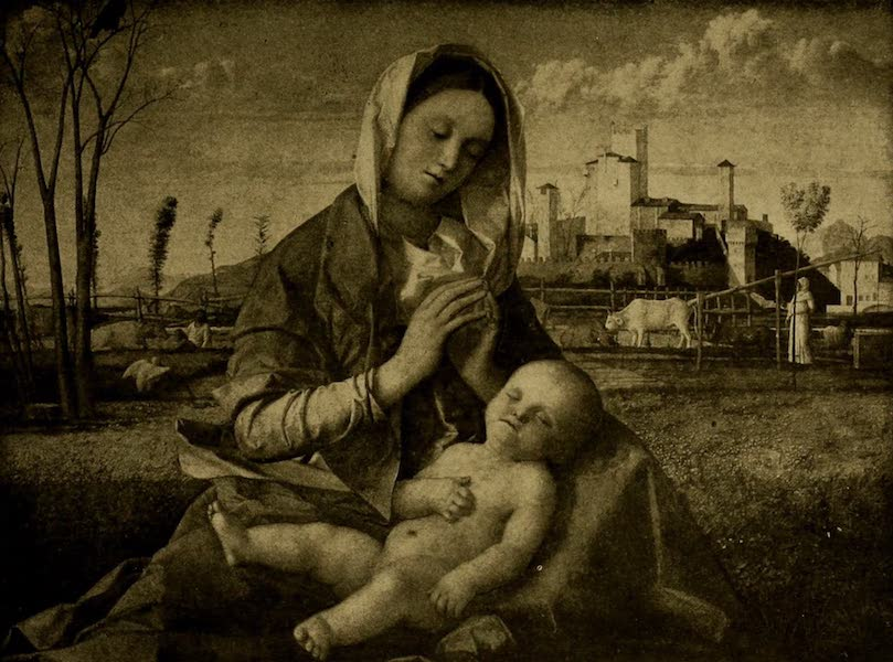A Wanderer in London - Virgin and Child. Giovanni Bellini (National Gallery) (1906)