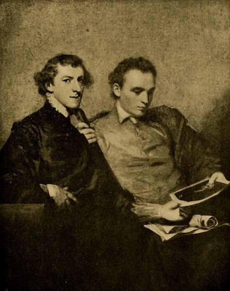 A Wanderer in London - Portrait of Two Gentlemen. Sir Joshua Keynolds (National Gallery) (1906)