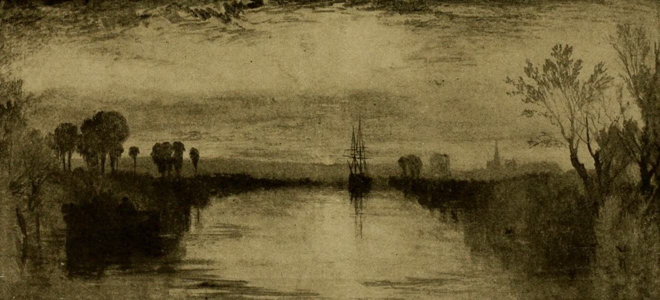 A Wanderer in London - Chichester Canal. J. M.