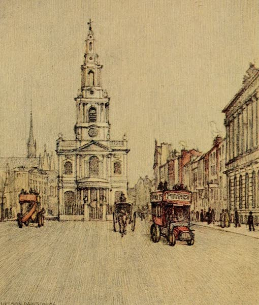 A Wanderer in London - St. Mary-le-Strand (1906)