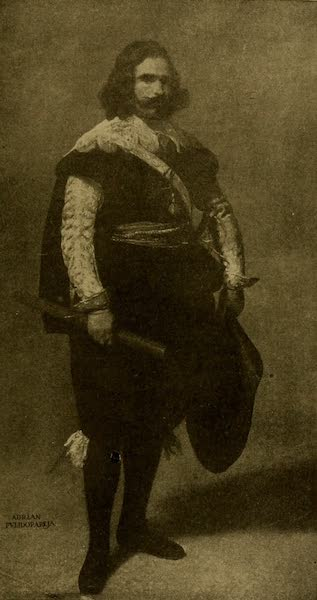 A Wanderer in London - Admiral Pulido Pareja. Velasquez (National Gallery). From a Photograph by W. A. Mansell & Co. (1906)