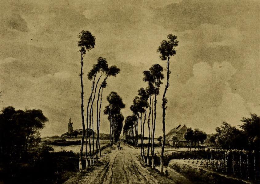 A Wanderer in London - The Avenue at Middelharnis. Meindert Hobbema (National Gallery) (1906)