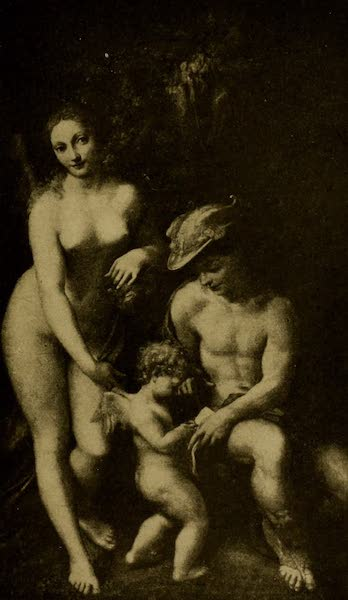 A Wanderer in London - Mercury Instructing Cupid. Correggio (National Gallery) (1906)
