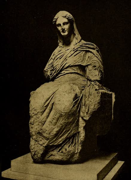 A Wanderer in London - The Demeter of Cnidos. (British Museum) From a Photograph by