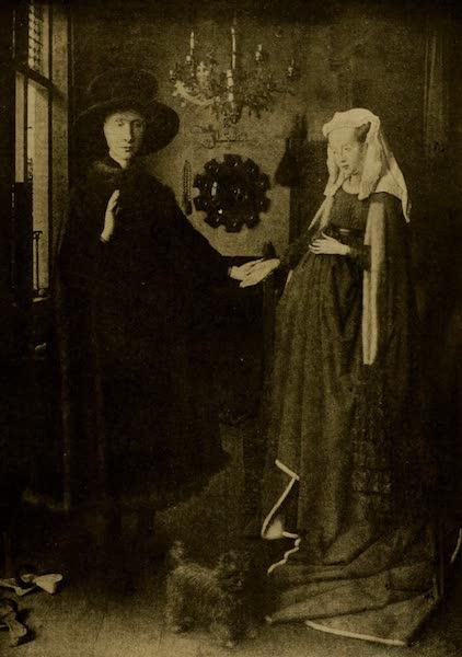 A Wanderer in London - Jean and Jeanne Arnolfini. Jan van Eyck (National Gallery) (1906)