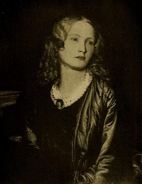 A Wanderer in London - Mrs. Collmann. Alfred Stevens (Tate Gallery) (1906)