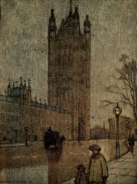 A Wanderer in London - The Victoria Tower, House of Lords (1906)