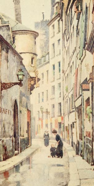 A Wanderer in Paris - The Rue de l'Hôtel de Ville (1909)