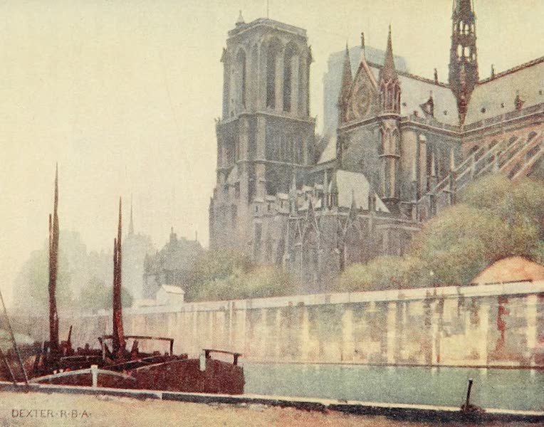 A Wanderer in Paris - Notre Dame (1909)