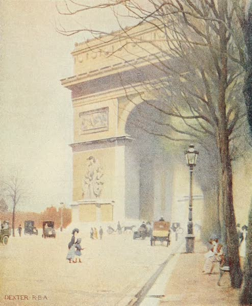 A Wanderer in Paris - The Arc de Triomphe de l'Etoile (1909)
