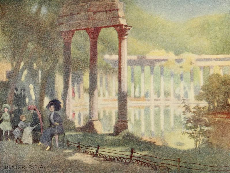 A Wanderer in Paris - The Parc Monceau (1909)