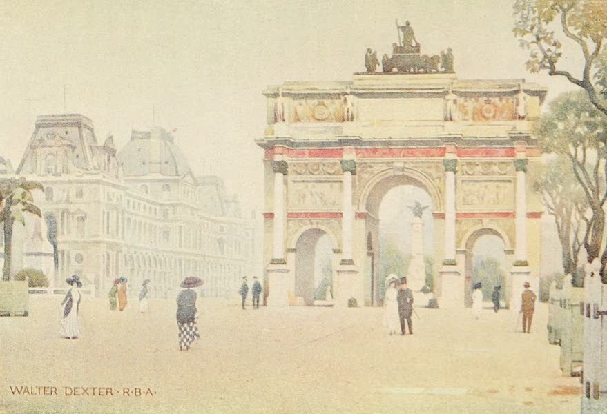 A Wanderer in Paris - The Arc de Triomphe du Carrousel (1909)