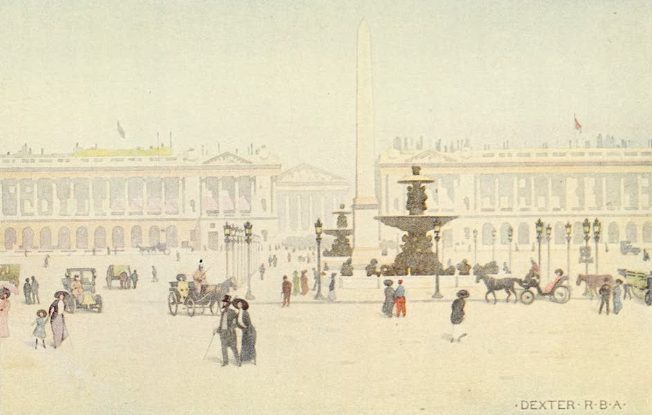 A Wanderer in Paris - The Place de la Concorde (1909)