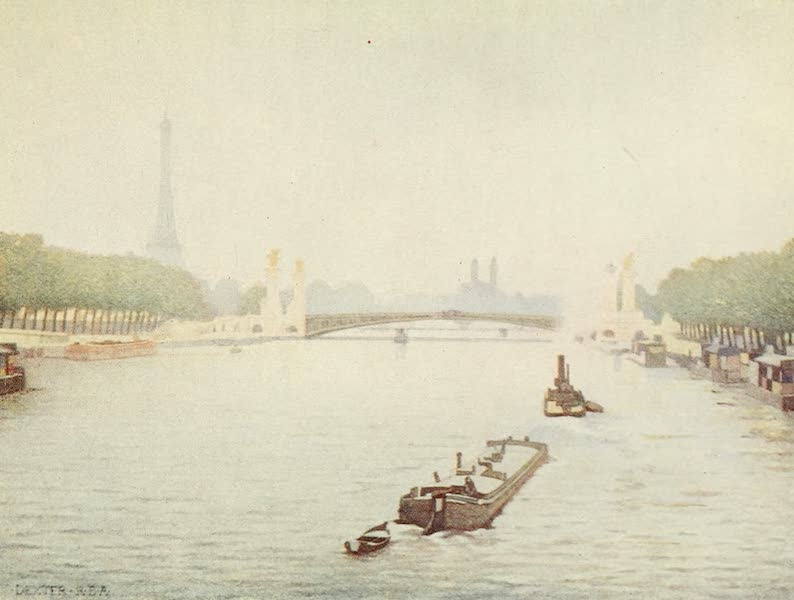 A Wanderer in Paris - The Pont Alexandre III. (1909)