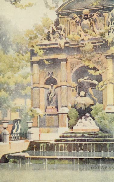 A Wanderer in Paris - The Fontaine de Médicis (1909)