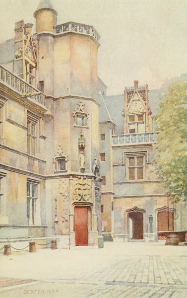 A Wanderer in Paris - The Musée Cluny (1909)
