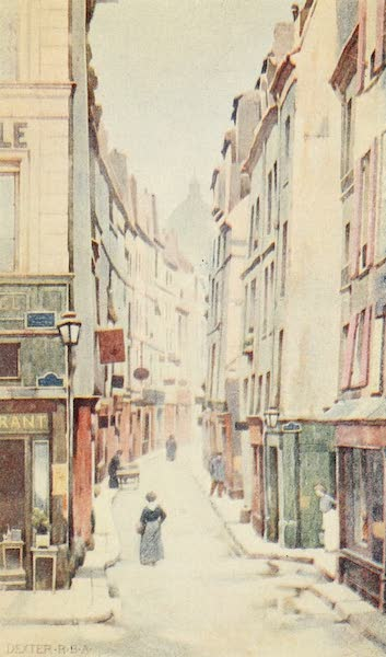 A Wanderer in Paris - The Rue de Bièvre (1909)