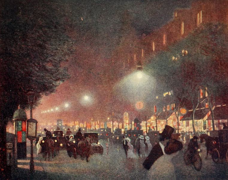 A Wanderer in Paris - The Boulevard des Italiens (1909)