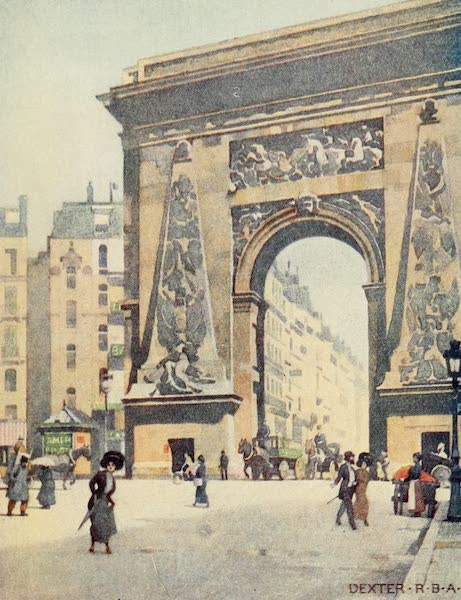 A Wanderer in Paris - The Porte St. Denis (1909)