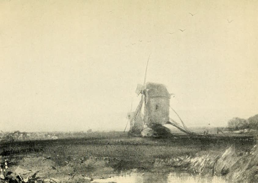 A Wanderer in Paris - The Windmill. R. P. Bonington (Louvre) (1909)