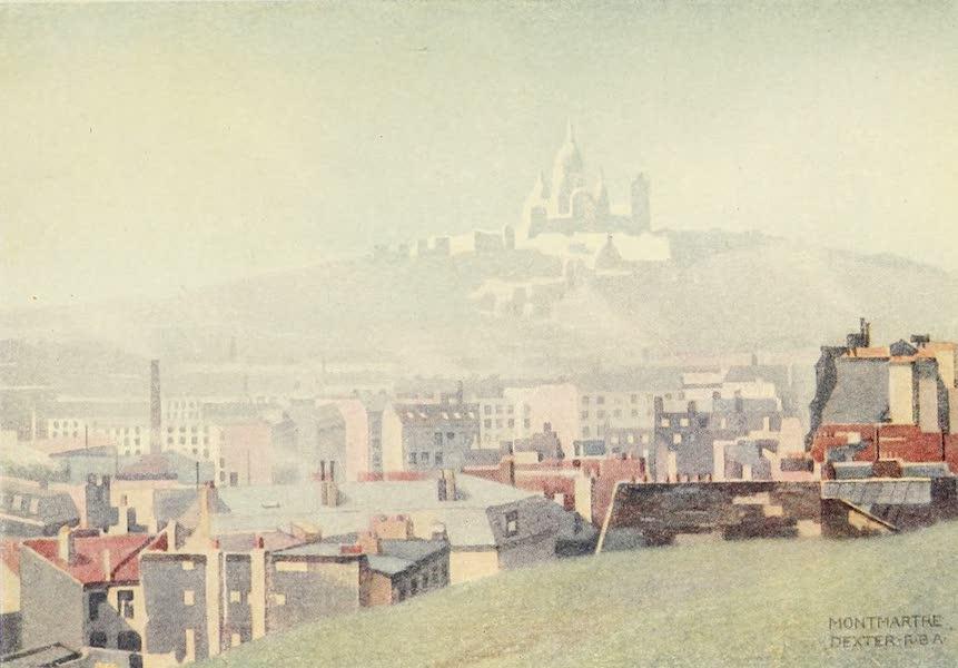 A Wanderer in Paris - The Sacre Cœur de Montmartre from the Buttes-Chaumont (1909)