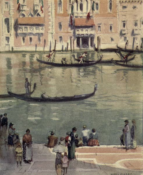 A Wanderer in Venice - The Grand Canal from the Steps of S. Maria della Salute (1914)