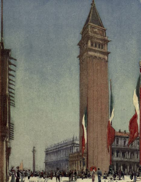 A Wanderer in Venice - The Campanile and the Piazza from Cook's Corner (1914)