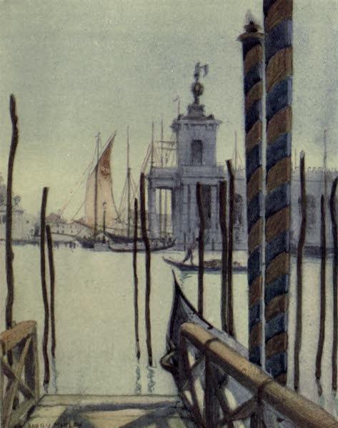 A Wanderer in Venice - The Dogana (with S. Giorgio Maggiore just visible) (1914)
