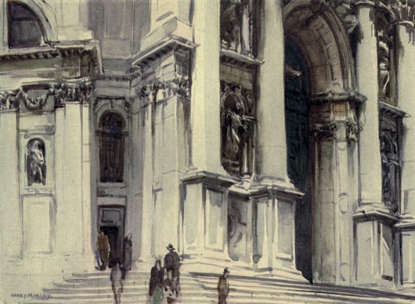 A Wanderer in Venice - Doorway of S. Maria della Salute (1914)