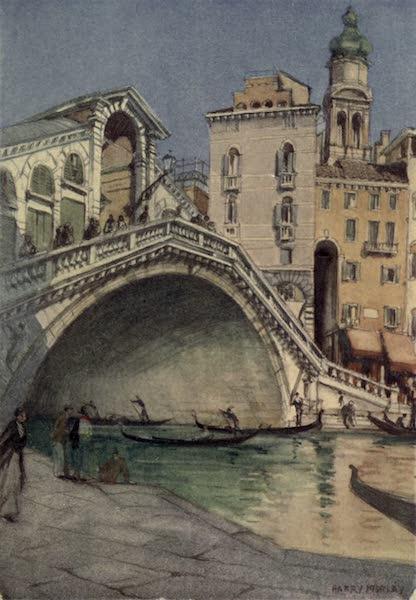 A Wanderer in Venice - The Rialto Bridge from the Palazzo dei Dieci Savii (1914)