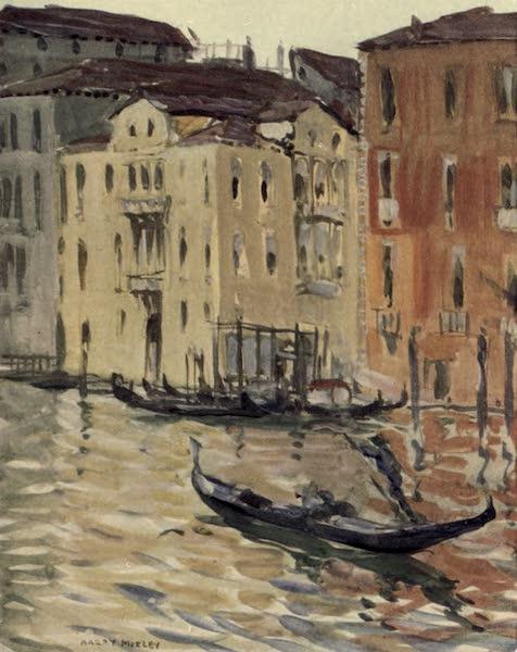 A Wanderer in Venice - Traghettyo of S. Zobenigo, Grand Canal (1914)