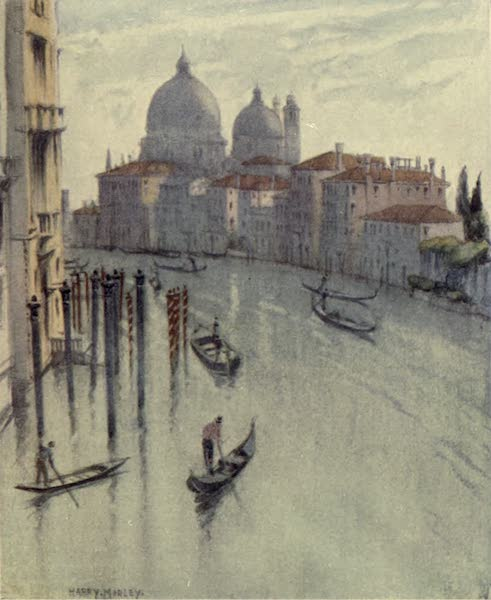 A Wanderer in Venice - The Grand Canal, showing S. Maria della Salute (1914)