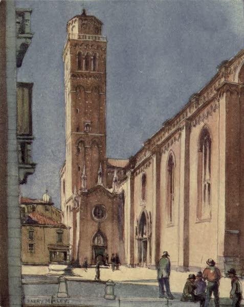 A Wanderer in Venice - S. Maria Gloriosa dei Frari (1914)