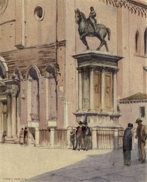 A Wanderer in Venice - The Colleoni Statue and SS. Giovanni e Paolo (1914)