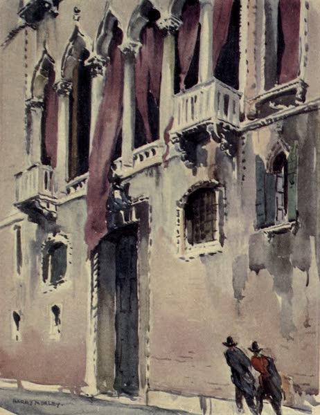 A Wanderer in Venice - The Palazzo Pesaro (Orfei), Campo S. Benedetto (1914)