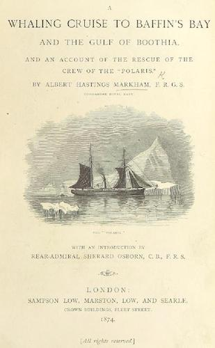 Aquatint & Lithography - A Whaling Cruise to Baffin's Bay and the Gulf of Boothia