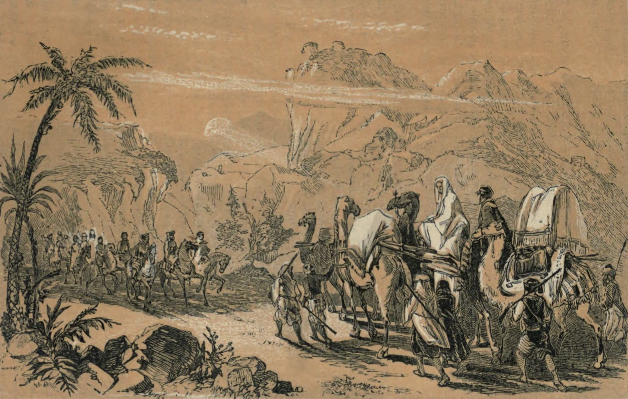 A Woman's Journey Round the World - Journey with an Arab Caravan (1852)