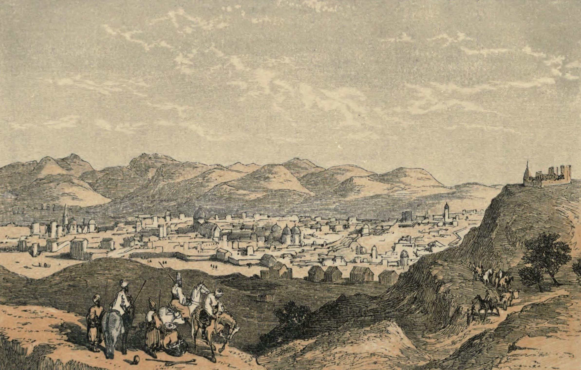 A Woman's Journey Round the World - Tebris (1852)