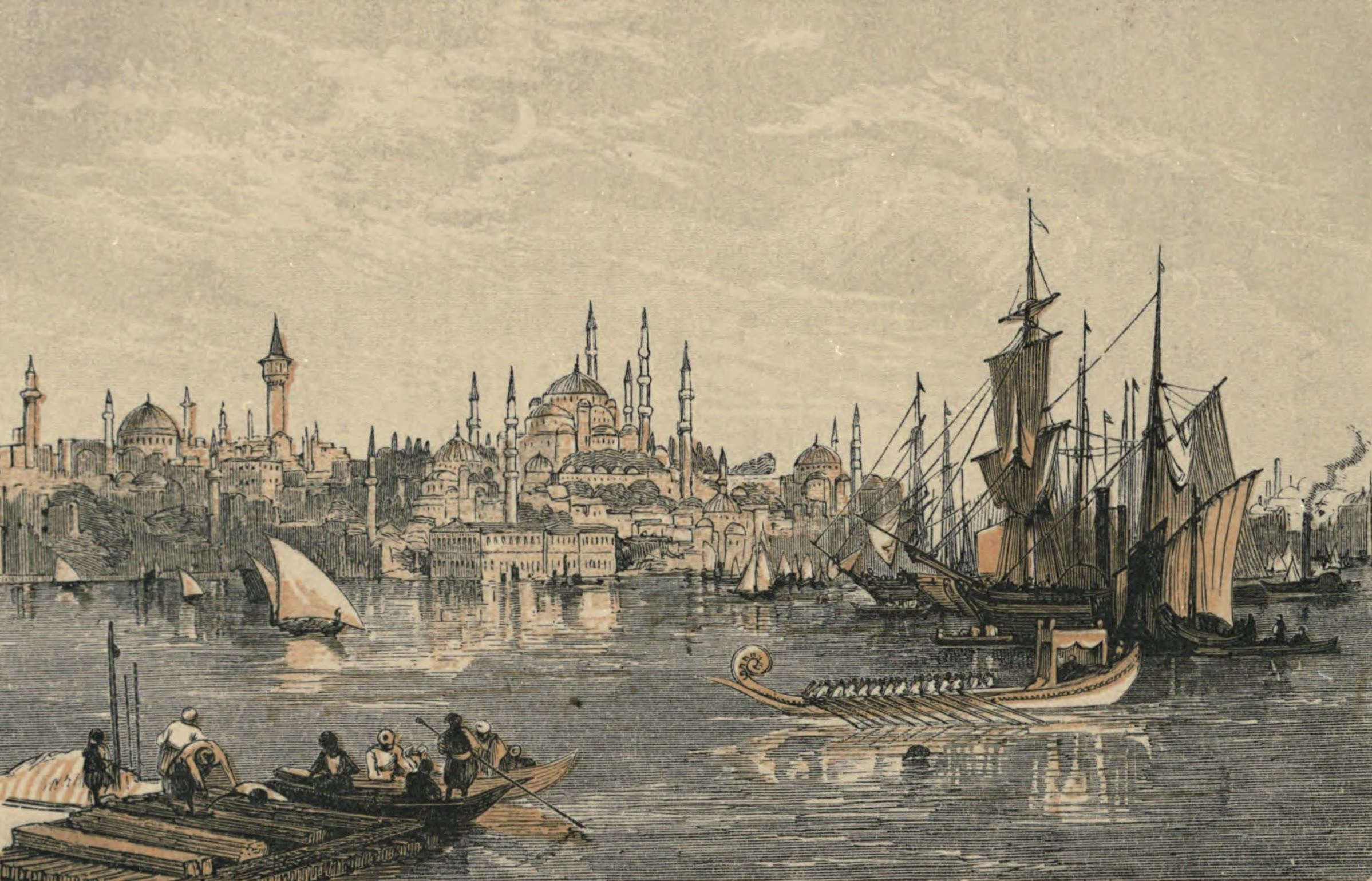 A Woman's Journey Round the World - Constantinople (1852)