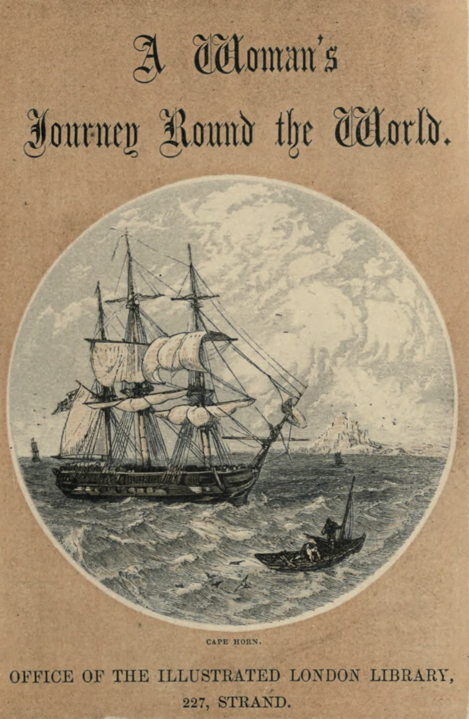 A Woman's Journey Round the World - Frontispiece (1852)