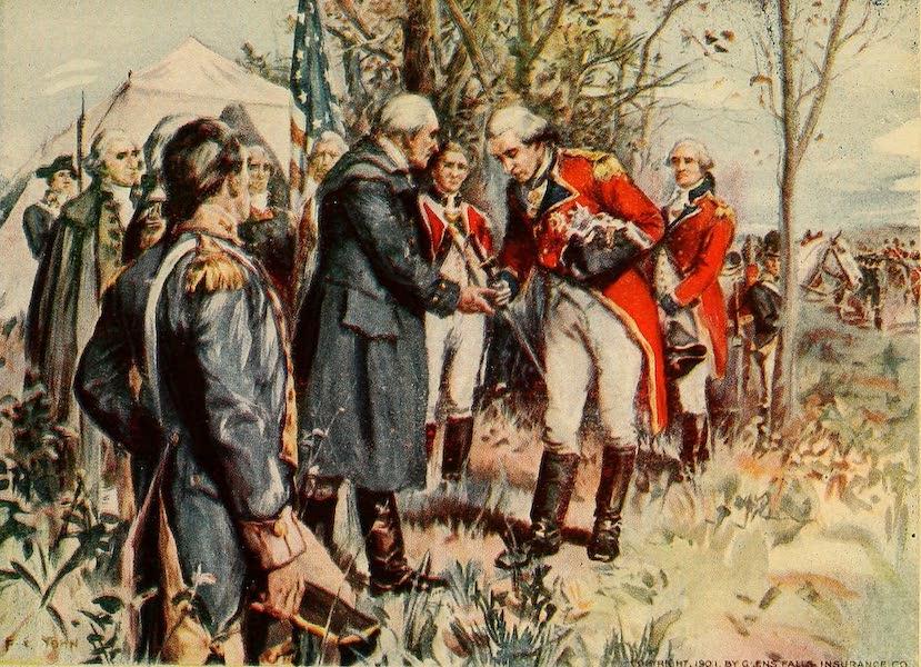 A Wonderland of the East - The Surrender of Burgoyne, after the Battle of Saratoga, October 17, 1777 (1920)
