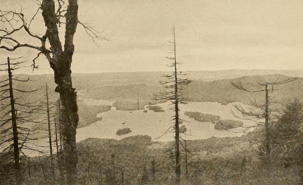 A Wonderland of the East - View from Blue Mountain, in the Adirondacks (1920)