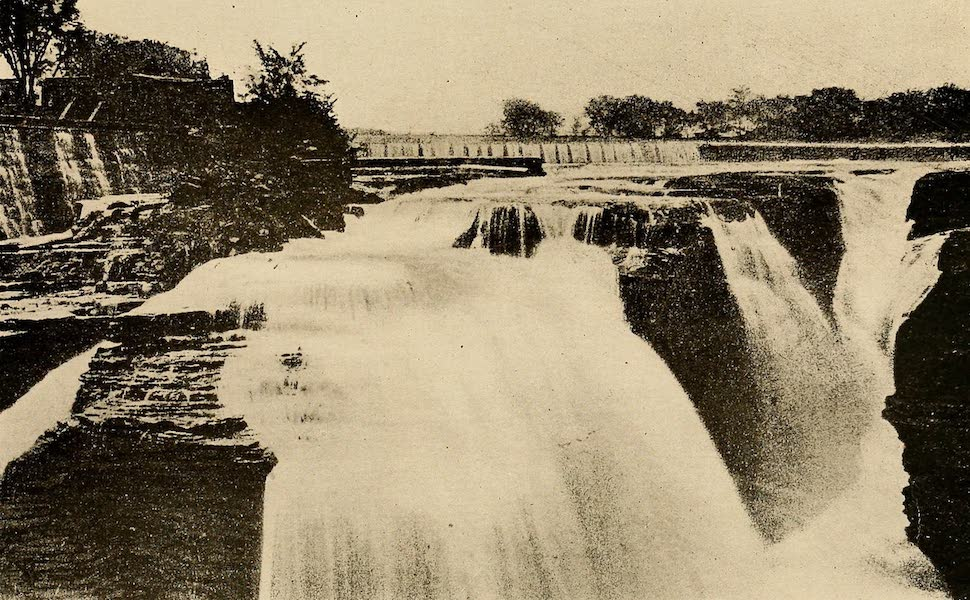 A Wonderland of the East - The Falls Above the Bridge, Glens Falls (1920)