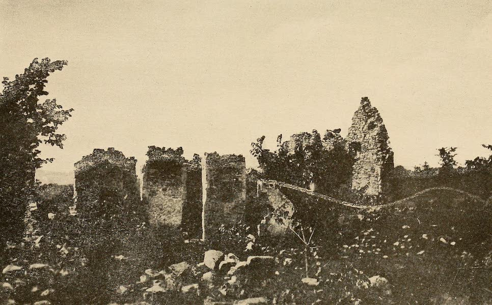 A Wonderland of the East - Ruins of Fort Ticonderoga (1920)