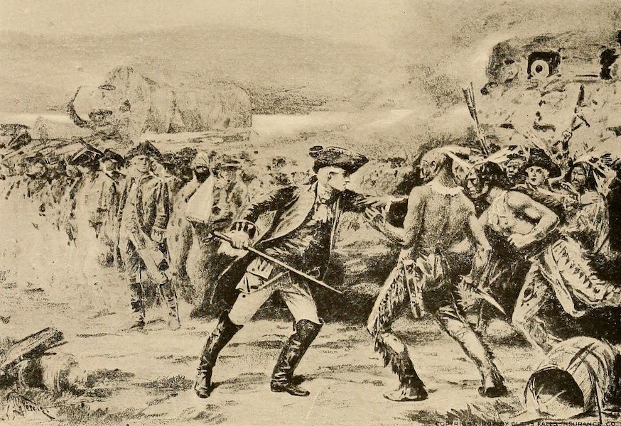 A Wonderland of the East - The Surrender of Fort William Henry, August 9, 1757 (1920)