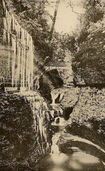 A Wonderland of the East - Rainbow Falls and Triple Cascade, Watkins Glen (1920)