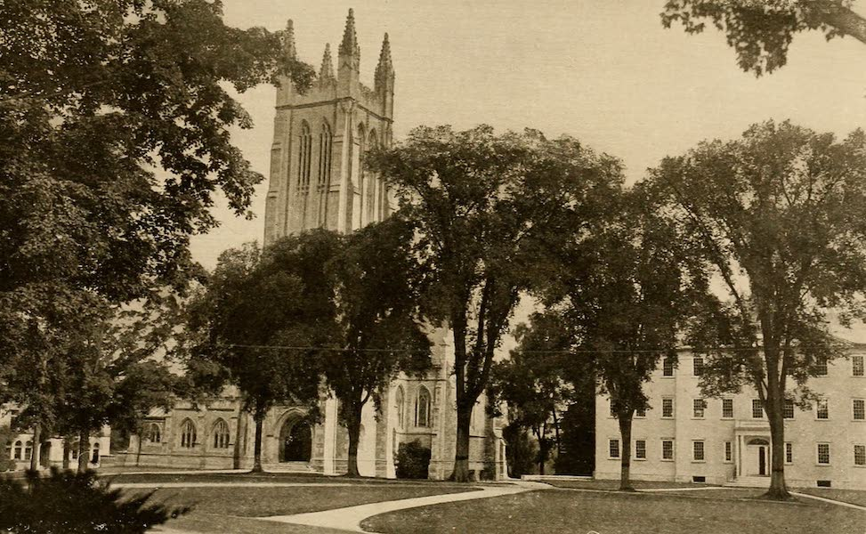 A Wonderland of the East - Thompson Memorial Chapel, Williams College (1920)