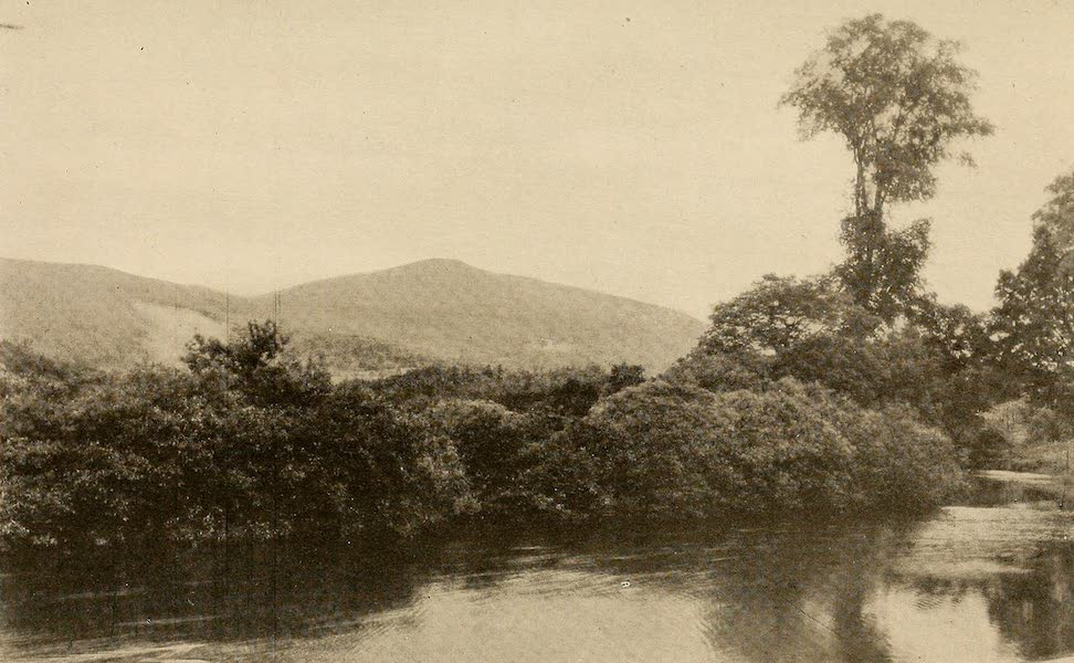 A Wonderland of the East - Mt. Equinox and the Battenkill River, from near Arlington, Vt. (1920)