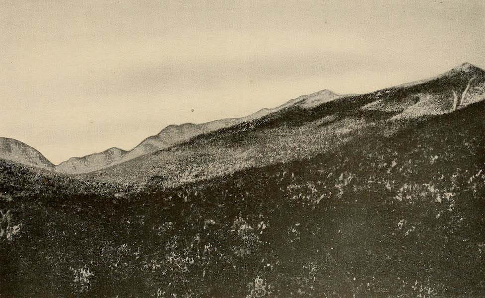 A Wonderland of the East - The Franconia Range, from North Woodstock (1920)