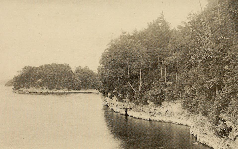 A Wonderland of the East - Along the Shore of Lake Champlain, near Thompson's Point (1920)